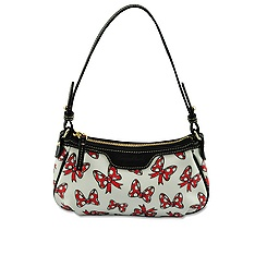 Minnie Mouse Bow Patty Pouchette Bag by Dooney & Bourke