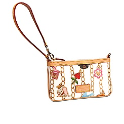 Disney Charms Wristlet by Dooney & Bourke - White