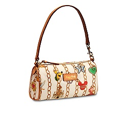 Disney Charms Mini Barrel Bag by Dooney & Bourke - White