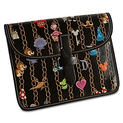 Disney Charms iPad Case by Dooney & Bourke -- Black