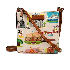 Walt Disney World Letter Carrier Bag by Dooney & Bourke - Retro