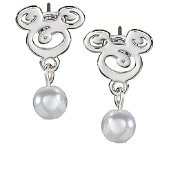 Mickey Mouse Icon Earrings