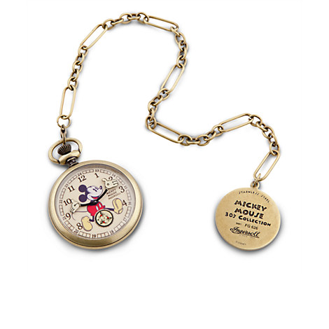 Mickey Mouse Pocket Watch Replica for Adults by Ingersoll