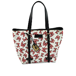 Minnie Mouse Bow Tote by Dooney & Bourke - Medium - White