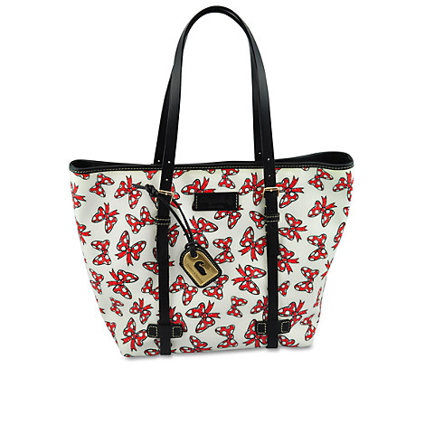 Minnie mouse bow tote by dooney amp bourke medium white