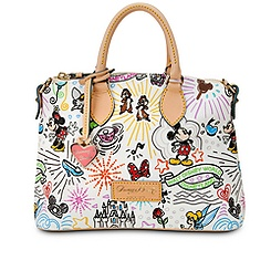 Disney Sketch Crossbody Satchel by Dooney & Bourke