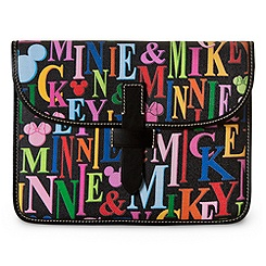 Mickey and Minnie Mouse Rainbow iPad Case by Dooney & Bourke
