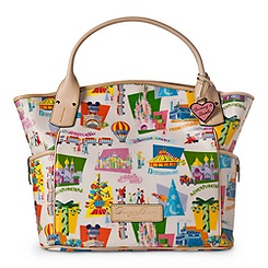 Disneyland Paris Tote Bag By Dooney & Bourke - Retro
