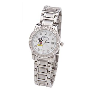 Mickey Mouse Diamond Watch for Women by Bulova