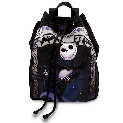 Jack Skellington Cinch Sack Backpack