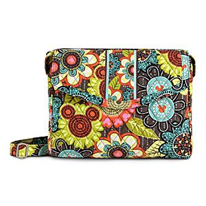 Mickey's Perfect Petals Tablet Hipster Bag by Vera Bradley