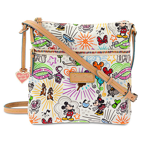 disney sketch nylon letter carrier bag by dooney bourke With disney sketch nylon letter carrier bag by dooney bourke