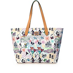 Disney Sketch Large Zip Shopper by Dooney & Bourke