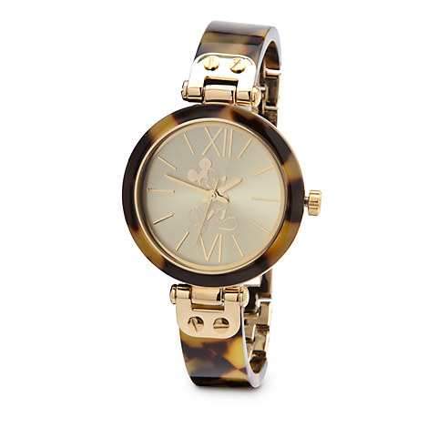 Mickey mouse tortoiseshell watch for women mickey mouse watches