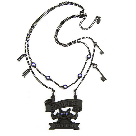 The Haunted Mansion ''Foolish Mortal'' Necklace
