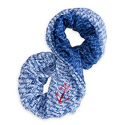 Minnie Mouse Infinity Scarf for Women - Disney Cruise Line