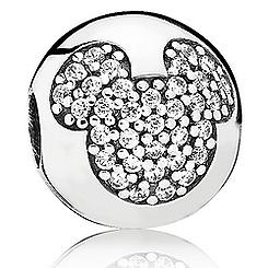 Mickey Mouse ''Mickey Pavé'' Charm by PANDORA