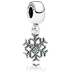Mickey Mouse ''Mickey's Sparkling Snowflake'' Charm by PANDORA