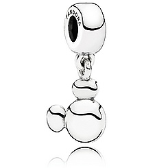 Mickey Mouse ''Solid Mickey Icon'' Charm by PANDORA