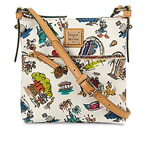 Disneyana Letter Carrier Bag by Dooney & Bourke - Walt Disney World