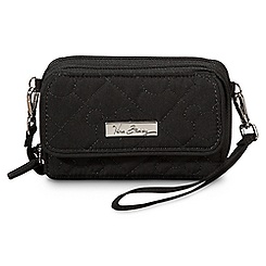 Mickey Mouse Icon All in One Crossbody Purse by Vera Bradley - Black