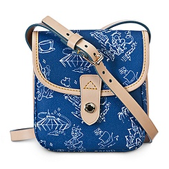 Disneyana Small Crossbody Bag by Dooney & Bourke - Walt Disney World - Navy