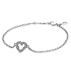 Mickey Mouse Silhouette Bracelet by PANDORA