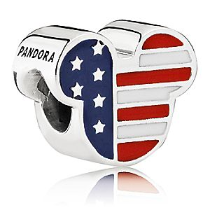 Mickey Mouse ''Americana'' Charm by PANDORA