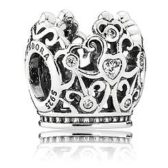 Disney Princess Crown Charm by PANDORA