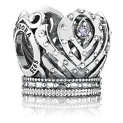 Anna Crown Charm by PANDORA