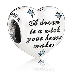 Cinderella Heart Charm by PANDORA