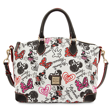 Minnie mouse hearts and bows satchel by dooney amp bourke bags amp totes