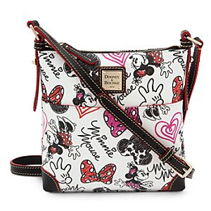 Minnie Mouse Hearts and Bows Letter Carrier Bag by Dooney & Bourke