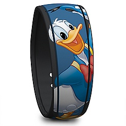 Donald Duck Signature Disney Parks MagicBand