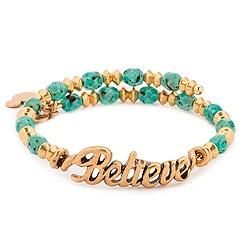 Believe Gold Wrap Bracelet by Alex and Ani