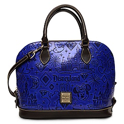 Disneyland Diamond Celebration Zip Satchel by Dooney & Bourke