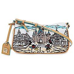 Mickey and Minnie Mouse Crossbody Bag by Dooney & Bourke - Disneyland