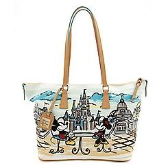 Mickey and Minnie Mouse Shopper by Dooney & Bourke - Walt Disney World