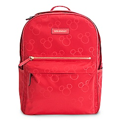 Mickey Mouse Preppy Poly Backpack by Vera Bradley - Red