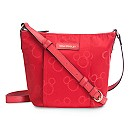 Mickey Mouse Preppy Poly Crossbody Bag by Vera Bradley - Red