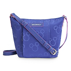 Mickey Mouse Preppy Poly Crossbody Bag by Vera Bradley - Violet