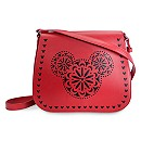 Mickey Mouse Icon Laser Cut Crossbody Bag by Vera Bradley - Red