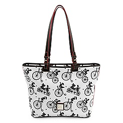 Mickey and Friends Bicycle Shopper Tote by Dooney & Bourke