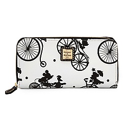 Mickey and Friends Bicycle Wallet by Dooney & Bourke