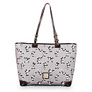Mickey and Minnie Mouse Retro Shopper by Dooney & Bourke - Gray