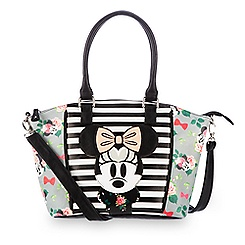 Minnie Mouse Floral Crossbody Bag by Loungefly - Disney Boutique