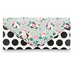 Minnie Mouse Floral Wallet - Disney Boutique
