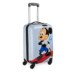 Mickey and Minnie Mouse Rolling Luggage -  20'' - Aulani