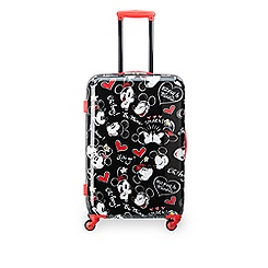 Mickey and Minnie Mouse Rolling Luggage - 26''