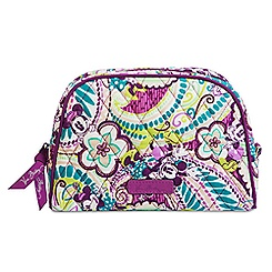 Plums Up Mickey Cosmetic Bag by Vera Bradley